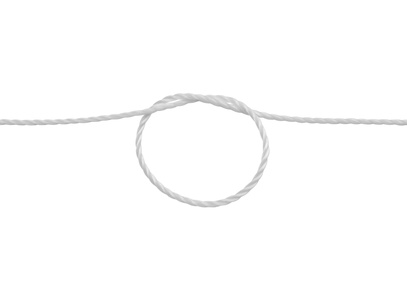 Loophole rope knot
