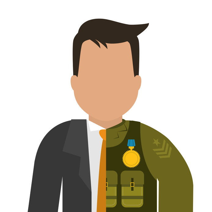 Army design over white background ,vector illustration.